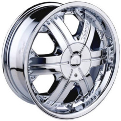 Velocity VW158 Chrome 22X10 6-139.7 Wheel