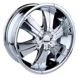 Velocity VW166 Chrome 24X10 5-120 Wheel