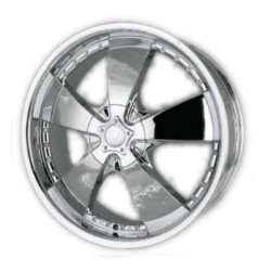 Velocity VW190 Chrome 20X8 5-108 Wheel