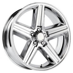Velocity VW248A Chrome 22X10 5-120.7 Wheel