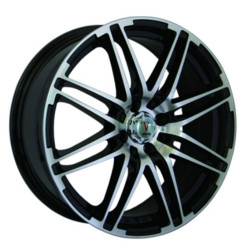 Velocity VW287 Black Machined Face 17X7 5-100 Wheel