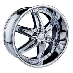 Velocity VW350 Chrome 24X10 6-139.7 Wheel