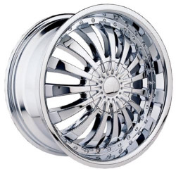 Velocity VW380 Chrome 22X8 5-108 Wheel