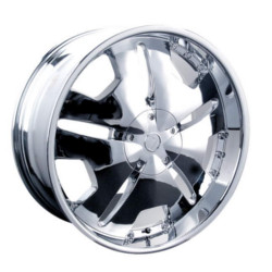 Velocity VW627 Chrome 24X10 6-135 Wheel