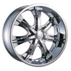 Velocity VW725-S Chrome 22X10 5-115 Wheel