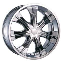 Velocity VW750-S Chrome 18X8 5-120 Wheel