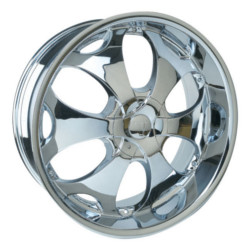 Velocity VW780 Chrome 24X10 5-127 Wheel