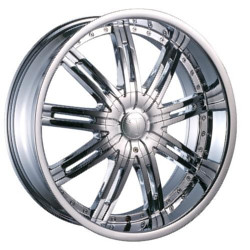Velocity VW800-S Chrome 22X10 6-114.3 Wheel
