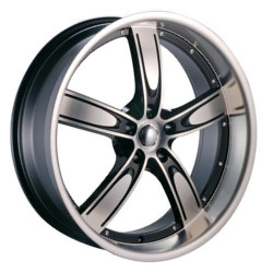Velocity VW850A Black Machined Face 20X9 5-114.3 Wheel