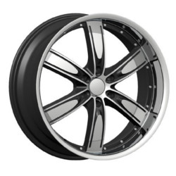 Velocity VW850B Black Machined Face 22X10 6-139.7 Wheel