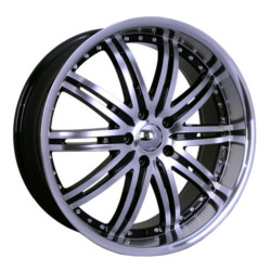 Velocity VW865A Black Machined Face & Lip 20X9 5-114.3 Wheel