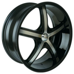 Velocity VW890 Black Machined Face 22X10 5-139.7 Wheel
