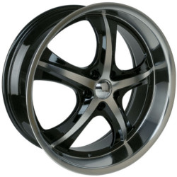 Velocity VW900A Black Machined Face & Lip 20X9 5-114.3 Wheel