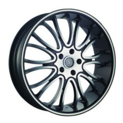 Velocity VW920 Black Machined Face W/ Machine Line Wheel