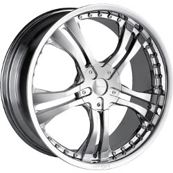 Veloche VYRUS Chrome 20X9 5-115 Wheel