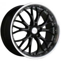 Ace WEBB Black With S/S Lip 19X10 5-120 Wheel