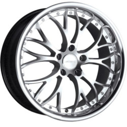 Ace WEBB Hypersilver With S/S Lip 19X10 5-120 Wheel
