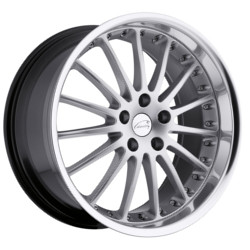 Coventry WHITLEY Hyper Silver W/Mirror Cut Lip 17X8 5-108 Wheel