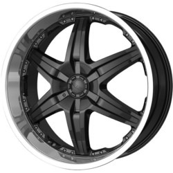 DIP WICKED Black 26X10 5-114.3 Wheel