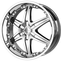 DIP WICKED Chrome 26X10 5-114.3 Wheel
