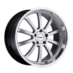 TSW WILLOW Hyper Silver W/Mirror Cut Lip 19X10 5-114.3 Wheel