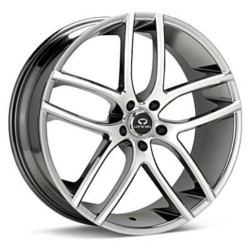 Lorenzo WL035 Bright Pvd W Machined Face 20X10 5-114.3 Wheel