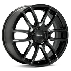 Lorenzo WL036 Gloss Black Milled