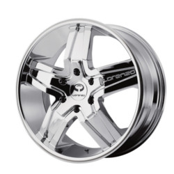 Lorenzo WL30 Chrome 26X10 6-139.7 Wheel