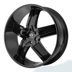 Lorenzo WL30 Gloss Black 20X9 5-114.3 Wheel