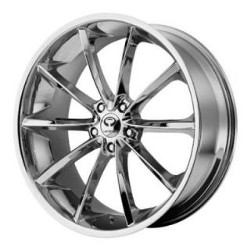 Lorenzo WL32 Chrome 20X10 5-115 Wheel