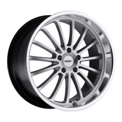 TSW ZOLDER Hyper Silver W/Mirror Cut Lip 17X8 5-112 Wheel