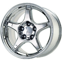 Wheel Replicas ZR1 Chrome 17X10 5-120.7 Wheel