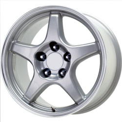 Wheel Replicas ZR1 Silver 17X10 5-120.7 Wheel